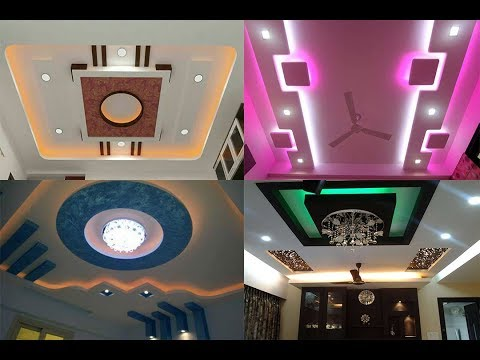 New Gypsum Ceiling Designs For Bedroom Living Room 2018 As Royal Decor Youtube