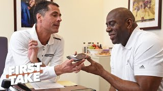 Did Magic Johnson quit to avoid blame?   First Take