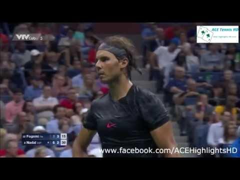 Rafael Nadal vs Fabio Fognini US OPEN 2015