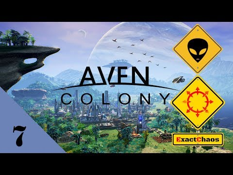Aven Colony - Let's Play 7 - More Power, More Population