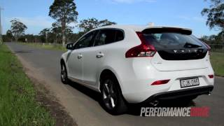 2013 Volvo V40 D4 Kinetic engine sound and 0-100km/h