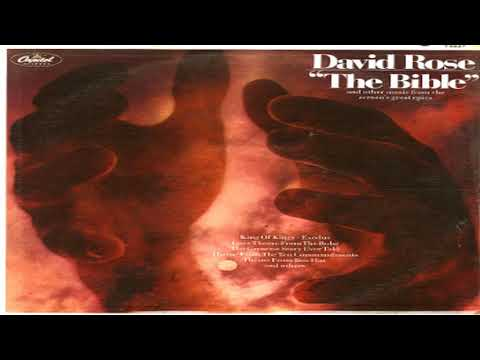 David Rose   The Bible and other music of Great Film Epics1967 GMB