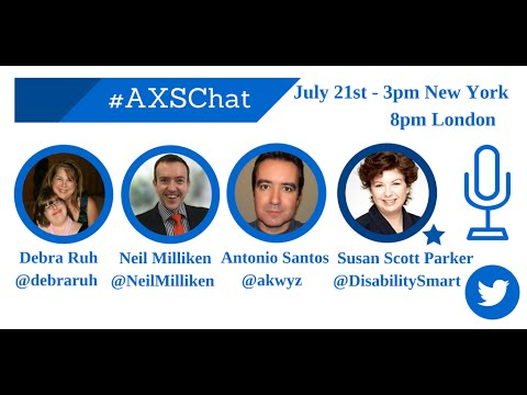 AXSChat with Susan Scott Parker, CEO and Founder of the Business Disability Forum