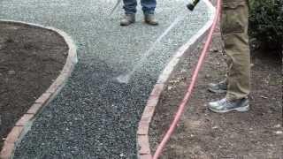 Gravel-Lok Installation: Mix Method