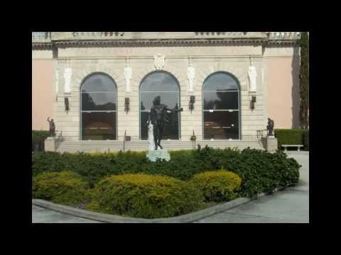 The John and Mable Ringling Museum of Art in Florida, located in Sarasota, Florida.