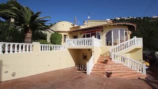 Exclusive villa for sale in Moraira, Costa Blanca.