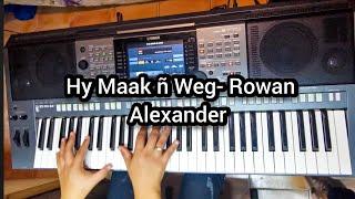 "How to play ""Hy Maak ñ Weg"" by Kunjalo || Original Key- Rowan Alexander - Gospel music"