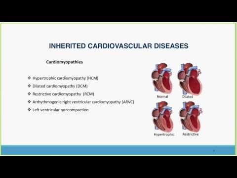 Genetic Testing for Inherited Cardiovascular Disease and Sudden Death Syndrome