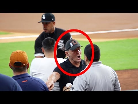 WORST security guard in MLB (Minute Maid Park)