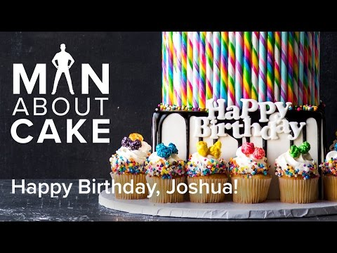 (man about) JJR's Candy Land Birthday Cake   Man About Cake with Joshua John Russell