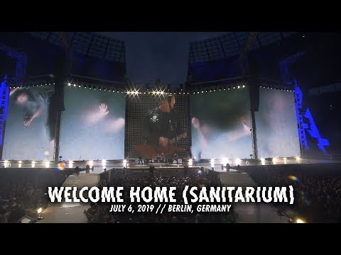 SHROOM - Metallica Welcome Home (Sanitarium) Live In Berlin [Video]
