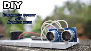 Ultrasonic Sensor with Arduino Nano DIY project