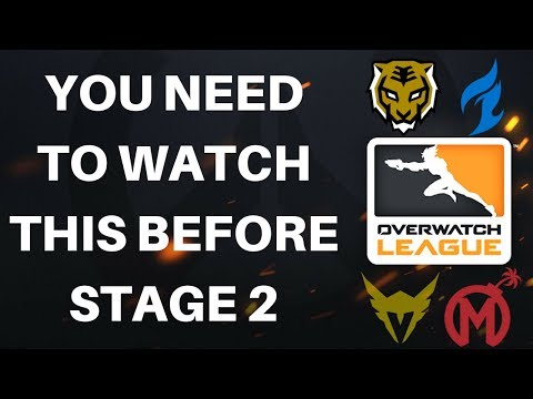 COMPLETE GUIDE To Stage 2 of The Overwatch League (Everything Is Changing)
