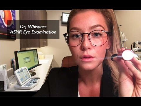 [ASMR] Eye Examination Dr. Whispers Roleplay