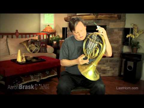 Aaron Brask French Horn Tips ::: Oiling Your Horn