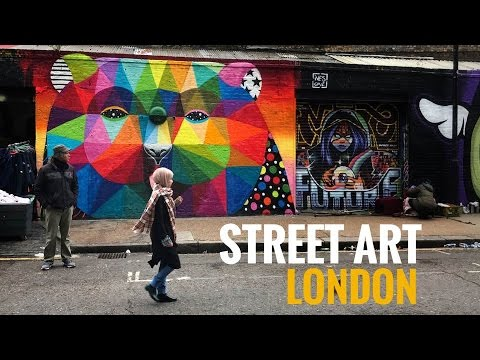 Street Art London (UK) documentary - Episode 3: Street Art and urban environment