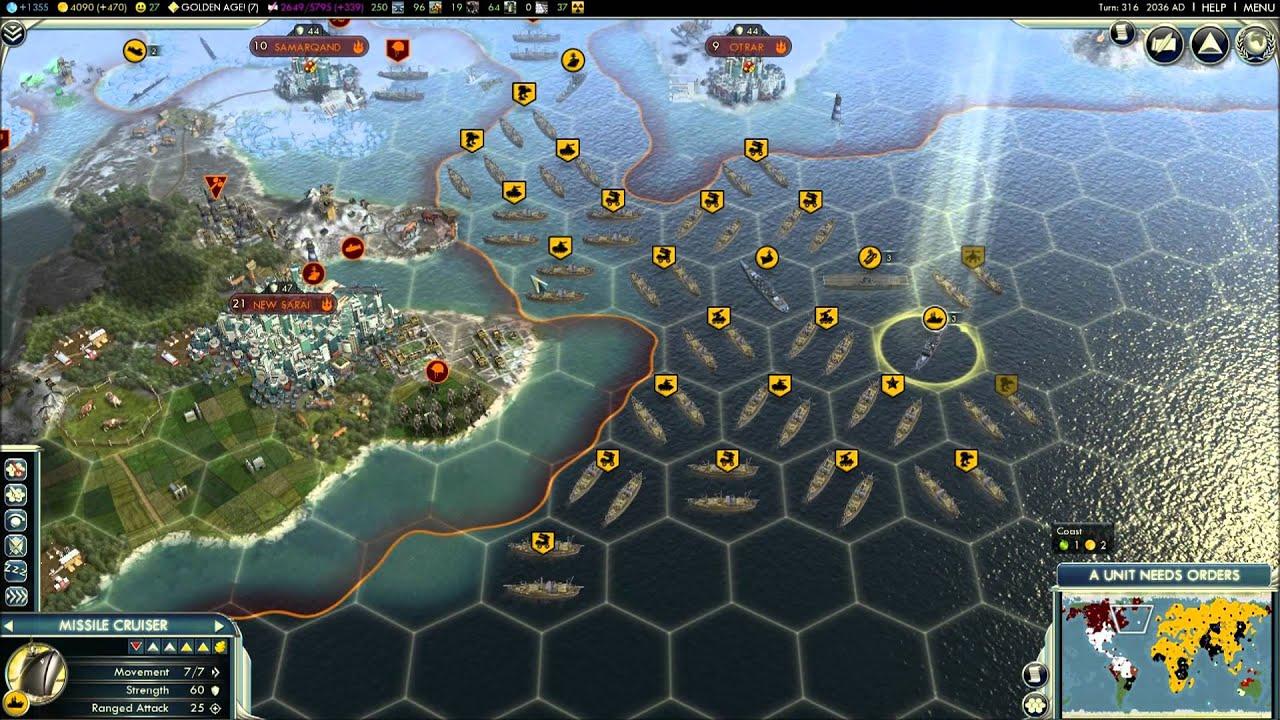 Civilization V Episode Part Russia Vs Japan Mongolia - Japan map civ 5
