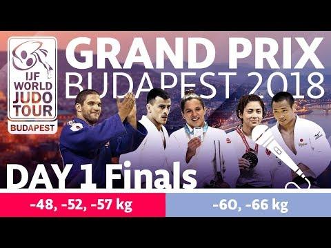 Judo Grand-Prix Budapest 2018: Day 1 - Final Block
