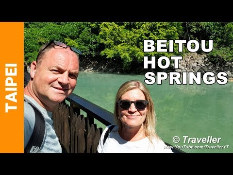 Beitou Hot Springs and HOW TO GET THERE - 北投溫泉, Xinbeitou - Taipei travel videos