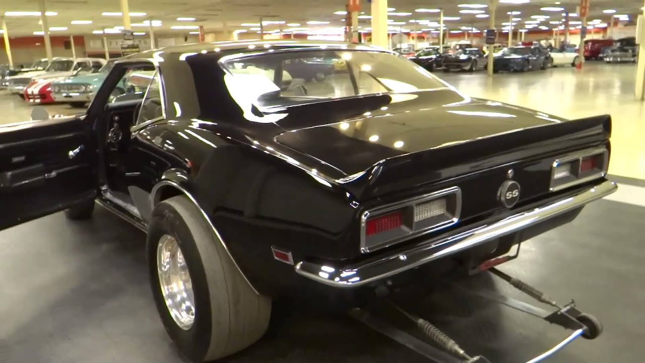 1968 chevrolet camaro prostreet stock 5798 gateway classic cars st louis youtube. Black Bedroom Furniture Sets. Home Design Ideas
