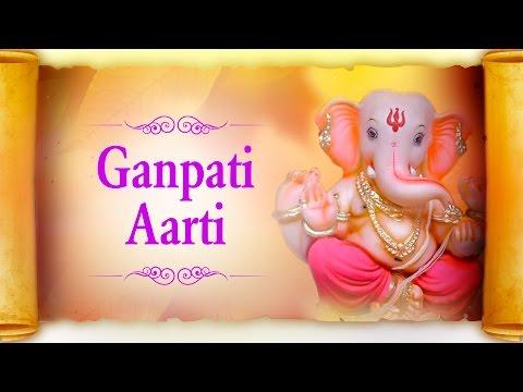 Ganpati Aarti In Marathi - Sukh Karta Dukh Harta Varta Vighnachi By Suresh Wadkar | With Lyrics