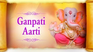 Download Hindi Video Songs - Ganpati Aarti In Marathi - Sukh Karta Dukh Harta Varta Vighnachi by Suresh Wadkar | With Lyrics