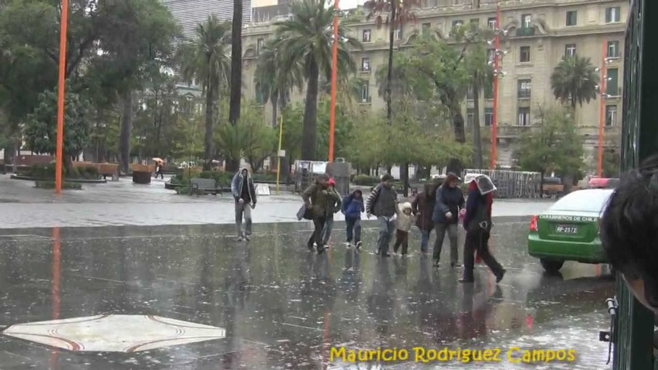 Dia de lluvia en santiago de chile youtube for Marmolerias en santiago de chile