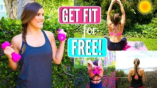 Get Fit for the Girl on a Budget! 4 Free Ways to Workout