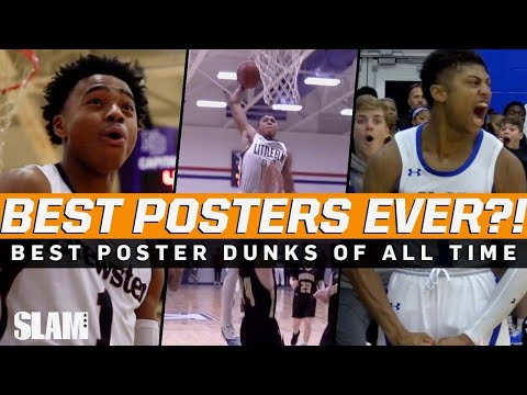 BEST Poster Dunks of all time! 🔥 SLAM Top 50 Friday