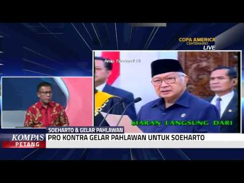 Pro Kontra Gelar Pahlawan Untuk Soeharto (Bag 1)