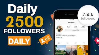 How to Get Instagram Followers Only 1 minutes and Get 2500 Followers Daily (Malayalam)