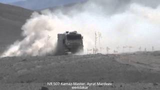 NR 507 DAKAR 2015 Kamaz- Master. Ayrat Mardeev