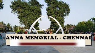 Anna Samadhi | அண்ணா சமாதி | Anna Memorial - Marina - Chennai |