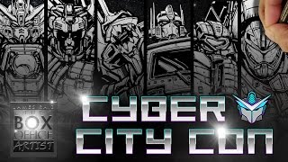 DRAWING MECHA ALL-STARS:  CYBER CITY CON EDITION