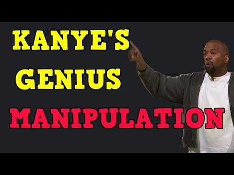 KANYE WEST MEDIA MANIPULATION MASTERCLASS