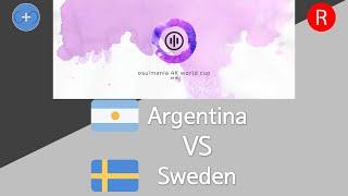 Osu Mania 4K World Cup 2016 Quarterfinals Loser Bracket Match S Argentina Vs Sweden