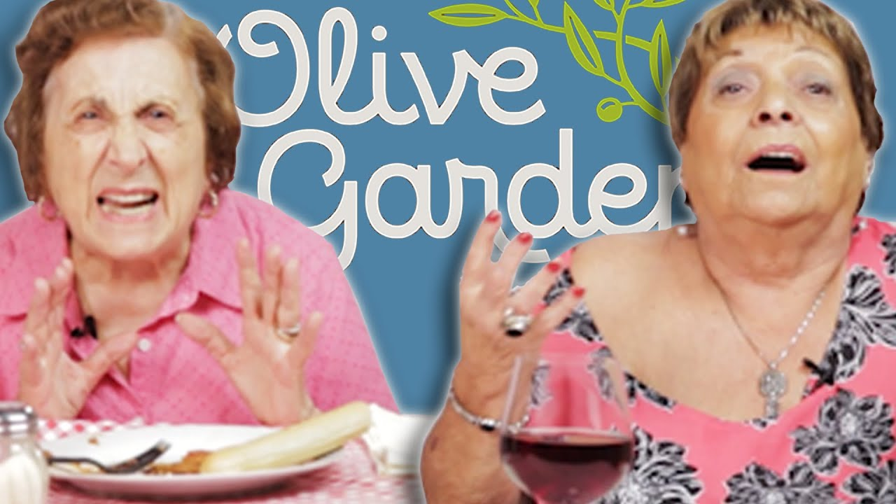 italian grandmas try olive garden for the first time youtube - Olive Garden Naples