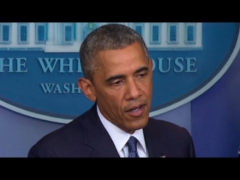 Obama condemns cease-fire violation