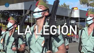 March 17th The Spanish Legion will hoist the national flag at Columbus Square