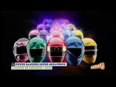 Power Rangers Super Megaforce - Canal J - Promo - A partir de mercredi 2 épisodes à 9h20
