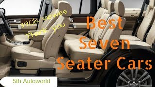 Best 7 Seater Car 2017