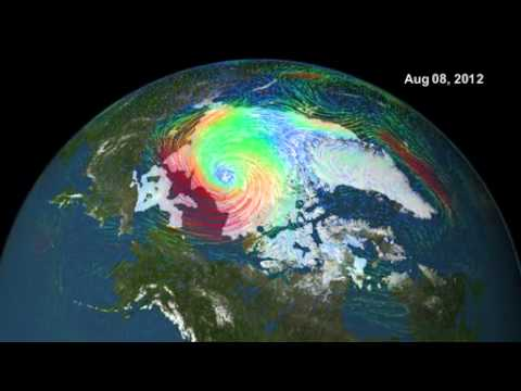 Disappearing Arctic Sea Ice - Melting Polar Ice Cap | Earth Science Footage Video