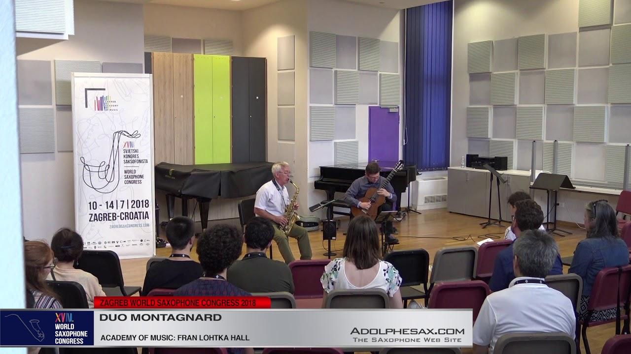 Balancing Act by Baljinder Sekhon   Duo Montagnard   XVIII World Sax Congress 2018 #adolphesax