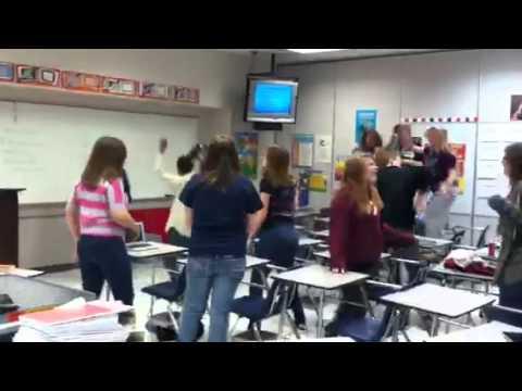 Christiansburg middle school harlem shake
