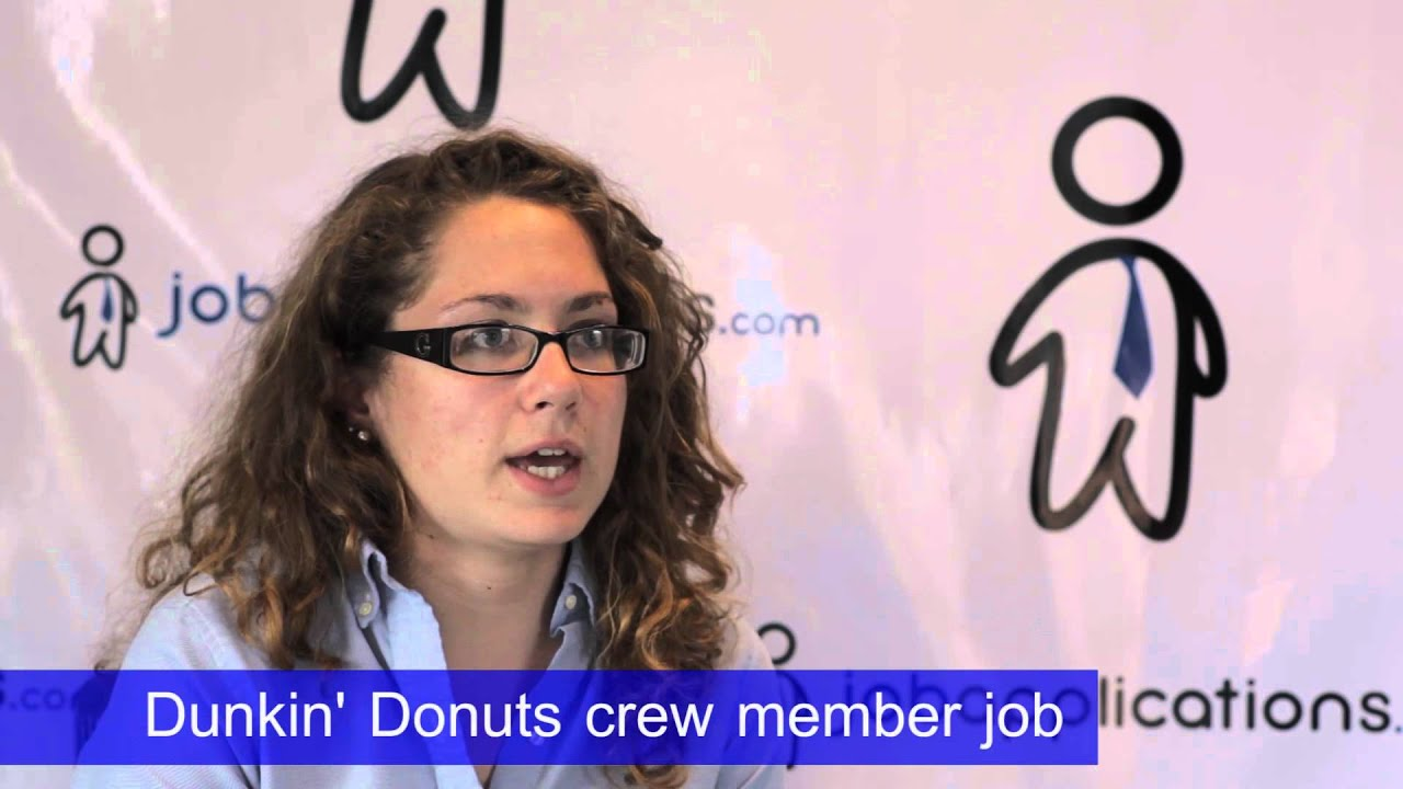 what to wear for dunkin donuts interview
