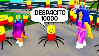 If 10,000 DESPACITO SPIDERS overtook ROBLOX!