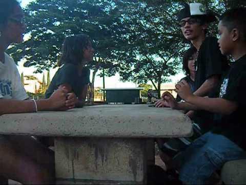 808crew at Molokai [manila camp] 12-29-09