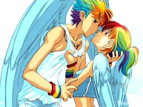 Rainbow Dash And Rainbow Blitz Human