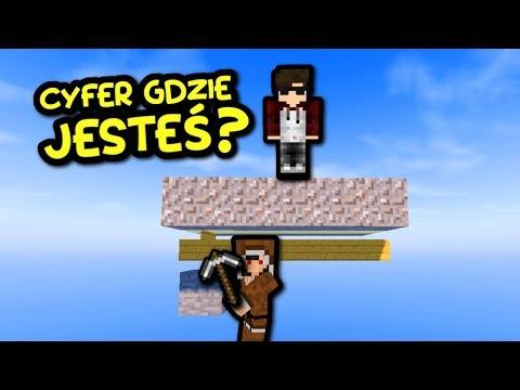 ZROBIŁEM MU KAWAŁ - Minecraft Cyfer Vs  Lufer