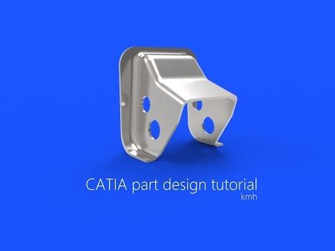 CATIA free basic online training  advanced part design tutorial